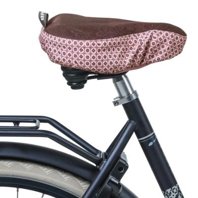 Basil Boheme Pokrowiec na siodełko rowerowe czerwony