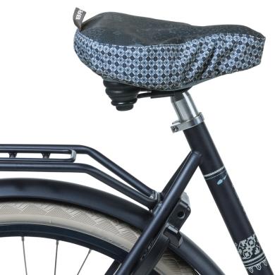Basil Boheme Pokrowiec na siodełko rowerowe niebieski