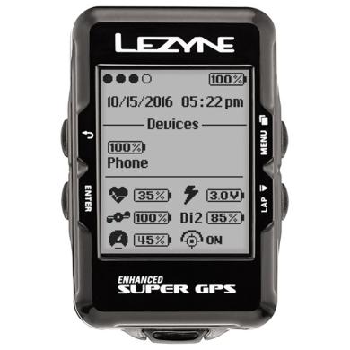 Lezyne Super GPS Licznik rowerowy