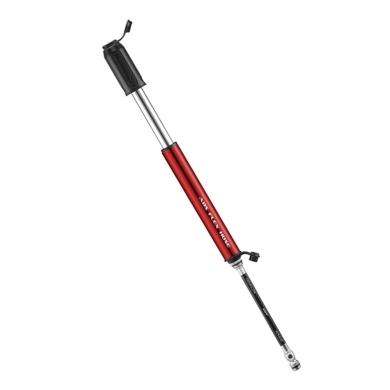 Lezyne HP Drive ABS Pompka ręczna 120psi czerwona