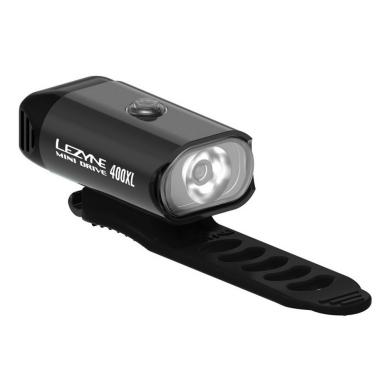 Lezyne Mini Drive Lampka przednia 400lm USB aku czarna