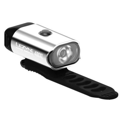 Lezyne Mini Drive Lampka przednia 400lm USB aku srebrna