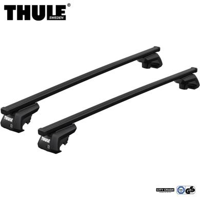Bagażnik Dachowy Thule SquareBar Evo Infiniti QX70 5-dr SUV 2013- relingi czarny