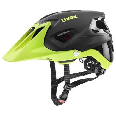 Uvex Quatro Integrale Kask enduro black lime mat