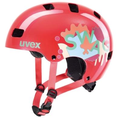 Uvex Kid 3 Kask dziecięcy coral