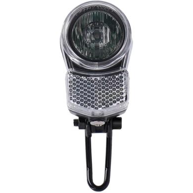 XLC CL F24 Lampka rowerowa przednia LED 10/25 lux na baterie