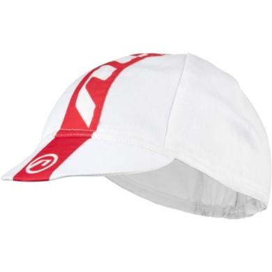 Accent Stripe Czapka z daszkiem biało czerwona