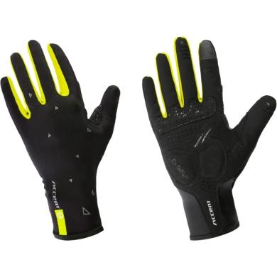 Accent Blade Rękawiczki z długimi palcami czarno żólte fluo