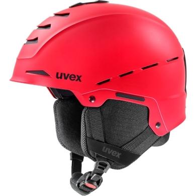 Kask narciarski snowboardowy Uvex Legend czerwony