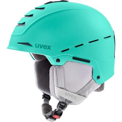 Kask narciarski snowboardowy Uvex Legend zielony