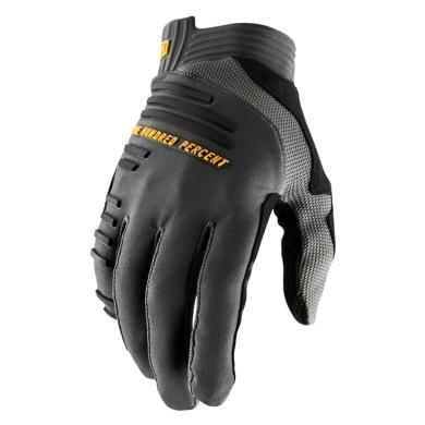 100% R-Core Gloves Rękawiczki charcoal