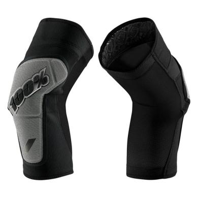 100% Ridecamp Knee Guard Ochraniacze na kolana black grey