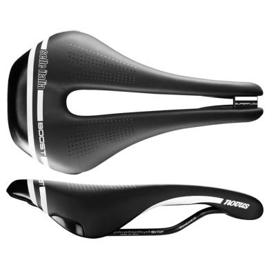 Selle Italia Novus Boost TM Superflow Siodełko triathlon czarne