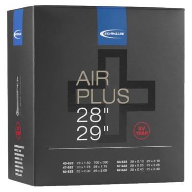 Schwalbe Air Plus Dętka 28 29 cali wentyl Presta 40mm