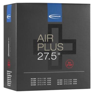 Schwalbe Air Plus Dętka 27.5 cala wentyl Presta 40mm