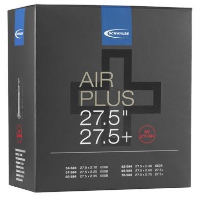 Schwalbe Air Plus Dętka 27.5 i 27.5 plus cala wentyl Presta 40mm