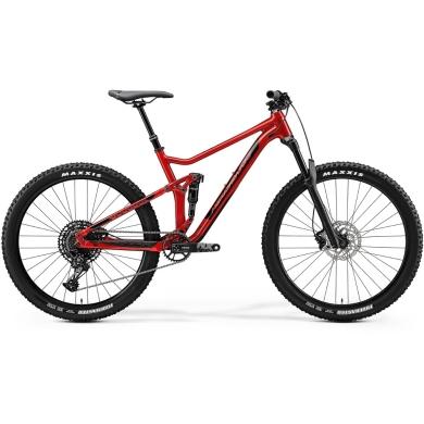 "Merida One-Twenty 7.600 Rower MTB 16"" Glossy X'Mas Red(Black)"