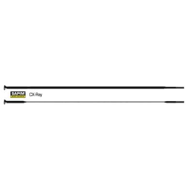 Szprycha z nyplem Sapim CX Ray 254-300mm Czarna