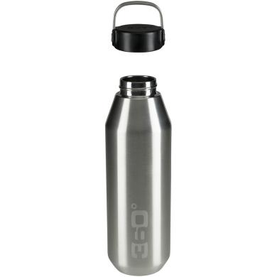 360 Degrees Narrow Mouth Bottle Butelka termiczna 750ml srebrna