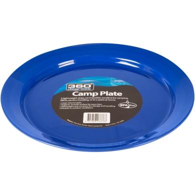 360 Degrees Camp Plate Talerz turystyczny niebieski