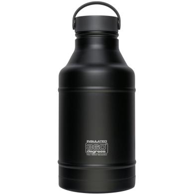 360 Degrees Vacuum Insulated Growler Butelka termiczna czarna