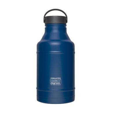 360 Degrees Vacuum Insulated Growler Butelka termiczna niebieska