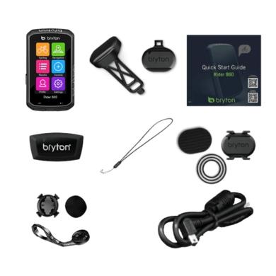 Bryton Rider 860T Licznik rowerowy komputer + czujniki