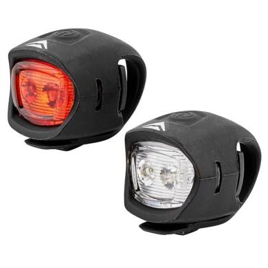 Merida HL-MD065 Zestaw lampek rowerowych 10Lm