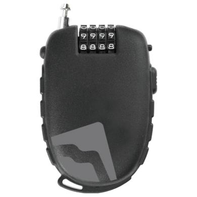 Merida LC-MD030 Zapięcie szyfrowe linka czarne 1200x1,6mm