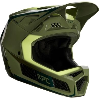 Fox Rampage Pro Carbon Kask MTB Full Face Daiz Zielony