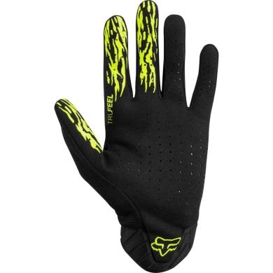 Fox Flexair Elevated Rękawiczki długie MTB Żółte