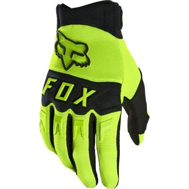 Fox Dirtpaw Rękawiczki długie MTB Żółte