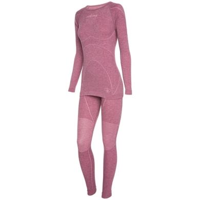 Viking Lady Prima Pro Bielizna termoaktywna damska komplet różowa