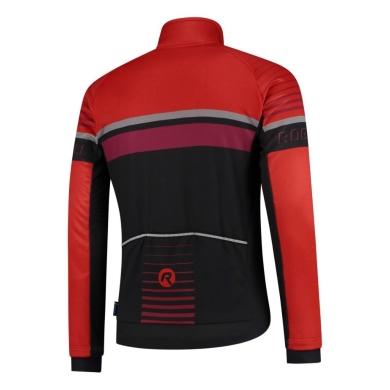 Rogelli Hero Bluza czarno czerwona