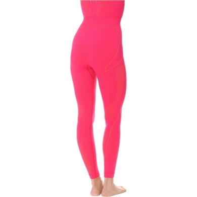 Brubeck Thermo Spodnie termoaktywne damskie fuksjowe