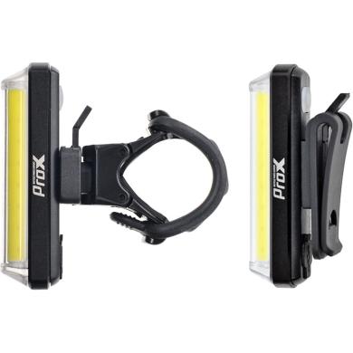 ProX Zeta T Lampka przednia LED 80 Lm aku USB