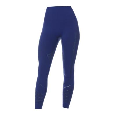 Brubeck Gym Legginsy z długą nogawką damskie ciemnoniebieskie