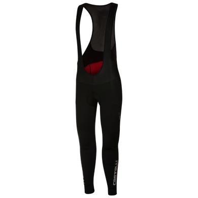 Castelli Meno Wind Spodnie kolarskie na szelkach z wkładką damskie czarne