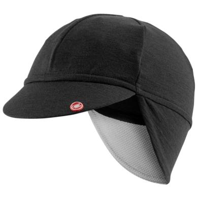 Castelli Bandito Cap Czapka kolarska z daszkiem czarna