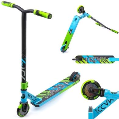 Madd Gear MGP Kick Pro Hulajnoga wyczynowa aluminiowa niebiesko zielona