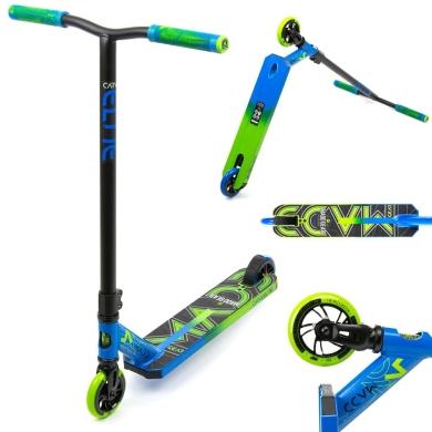 Madd Gear MGP Carve Elite Hulajnoga wyczynowa aluminiowa czarno niebiesko zielona