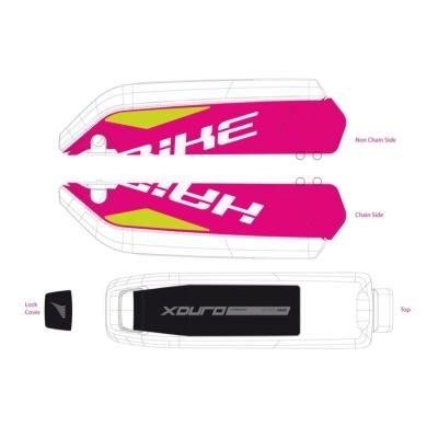 Haibike Naklejki na akumulator Bosch do XDURO Allmtn RC/Fullseven RX/FullLive RX