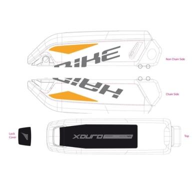Haibike Naklejki na akumulator Bosch do XDURO Allmtn Pro