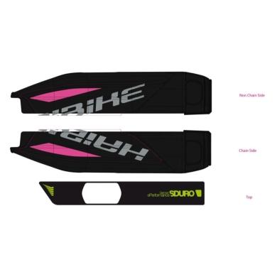 Haibike Naklejki na akumulator Yamaha do SDURO FatSix 6.0