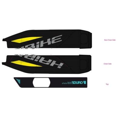 Haibike Naklejki na akumulator Yamaha do SDURO NDURO 6.0