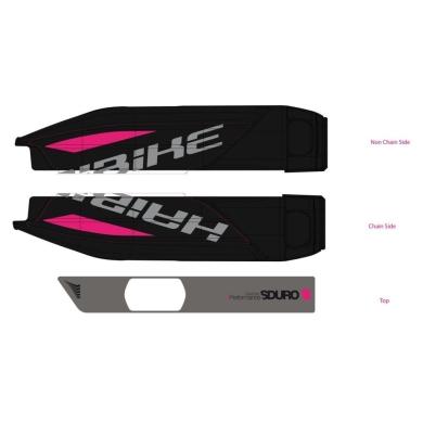Haibike Naklejki na akumulator Yamaha do SDURO HardLife SL