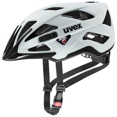 Uvex Active CC Kask Czarno Biały