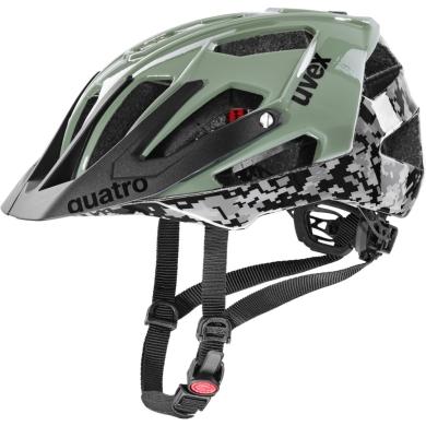 Uvex Quatro Kask Czarno Zielony