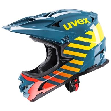 Uvex Hlmt 10 Bike Kask Niebieski