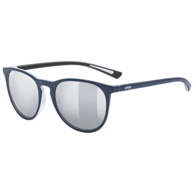 Okulary Uvex Lgl 43 niebieskie
